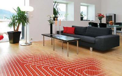 Calor y fr o por suelo radiante - Suelo radiante parquet ...