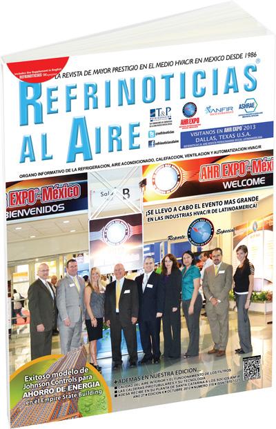 Refrinoticias Octubre 2012