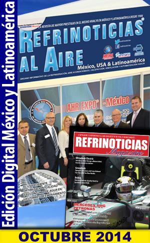 REFRINOTICIAS AL AIRE México, USA & Latinoamérica Octubre 2014