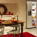 LA FALTA DE ESPACIO en el refrigerador durante la navidad