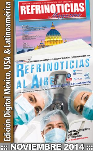 REFRINOTICIAS AL AIRE México, USA & Latinoamérica Noviembre 2014