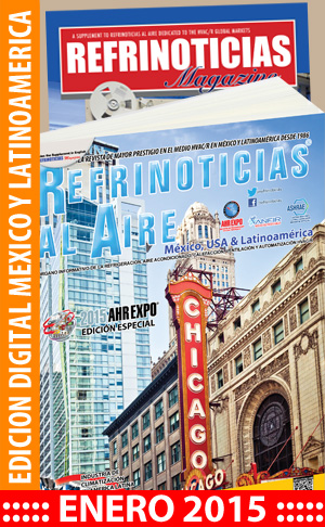 REFRINOTICIAS AL AIRE México, USA & Latinoamérica Enero 2015