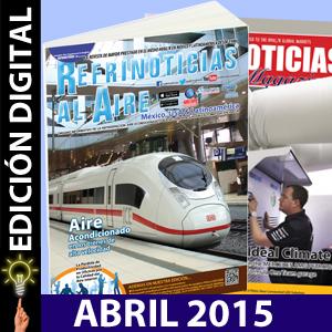REFRINOTICIAS AL AIRE México, USA & Latinoamérica ABRIL 2015