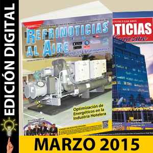 REFRINOTICIAS AL AIRE México, USA & Latinoamérica Marzo 2015