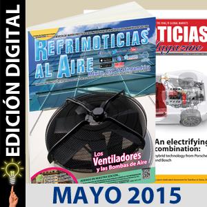 REFRINOTICIAS AL AIRE México, USA & Latinoamérica MAYO 2015