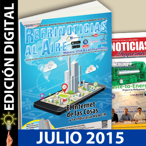 REFRINOTICIAS AL AIRE México, USA & Latinoamérica JULIO 2015
