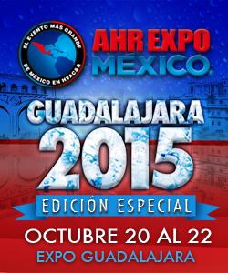 REFRINOTICIAS PRESENTE EN AHR EXPO GUADALAJARA 2015 EDICION ESPECIAL