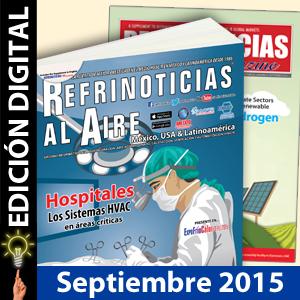 REFRINOTICIAS AL AIRE México, USA & Latinoamérica Septiembre 2015