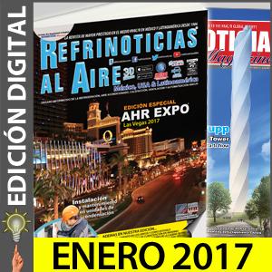 REFRINOTICIAS AL AIRE México, USA & Latinoamérica - Diciembre 2016