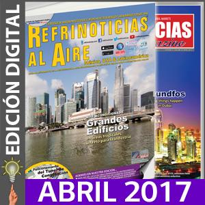 REFRINOTICIAS AL AIRE México, USA & Latinoamérica - Abril 2017