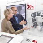 ABB e IBM se asocian para desarrollar soluciones industriales de inteligencia artificial