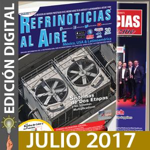 REFRINOTICIAS AL AIRE México, USA & Latinoamérica - Julio 2017