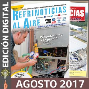 REFRINOTICIAS AL AIRE México, USA & Latinoamérica - Agosto 2017