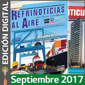 REFRINOTICIAS AL AIRE México, USA & Latinoamérica - Septiembre 2017
