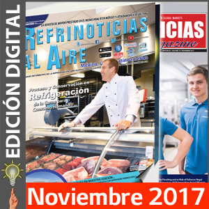 REFRINOTICIAS AL AIRE México, USA & Latinoamérica - Noviembre 2017