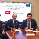 TCL Multimedia constituye una empresa conjunta con la marca argentina RV