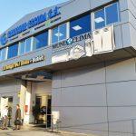 Salvador Escoda Inauguración de la Primera Tienda de Autoservicio de la Empresa