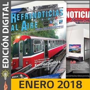 REFRINOTICIAS AL AIRE México, USA & Latinoamérica - ENERO 2018