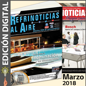 REFRINOTICIAS AL AIRE México, USA & Latinoamérica - Marzo 2018