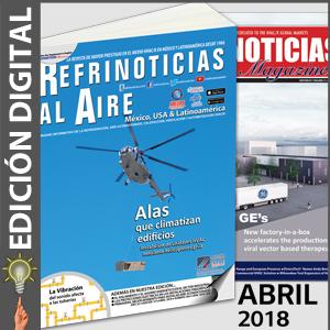 REFRINOTICIAS AL AIRE México, USA & Latinoamérica - Abril 2018