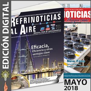 REFRINOTICIAS AL AIRE México, USA & Latinoamérica - MAYO 2018