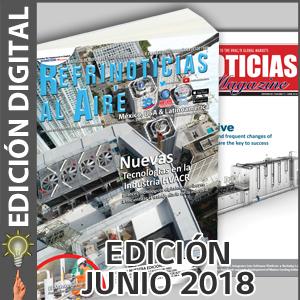 REFRINOTICIAS AL AIRE México, USA & Latinoamérica - JUNIO 2018