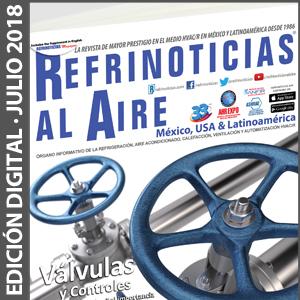 REFRINOTICIAS AL AIRE México, USA & Latinoamérica - JULIO 2018