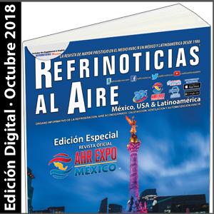 REFRINOTICIAS AL AIRE México, USA & Latinoamérica - Octubre 2018