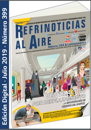 REFRINOTICIAS AL AIRE México, USA & Latinoamérica - Julio 2019