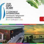TODO LISTO EN BARRANQUILLA, COLOMBIA PARA EL INICIO DE EXPO ACAIRE XVIII
