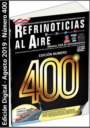 REFRINOTICIAS AL AIRE México, USA & Latinoamérica - Agosto 2019