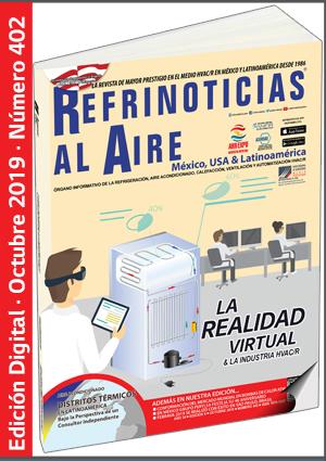 REFRINOTICIAS AL AIRE México, USA & Latinoamérica - Octubre 2019