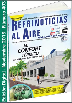 REFRINOTICIAS AL AIRE México, USA & Latinoamérica - Noviembre 2019