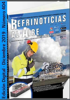 REFRINOTICIAS AL AIRE México, USA & Latinoamérica - Diciembre 2019
